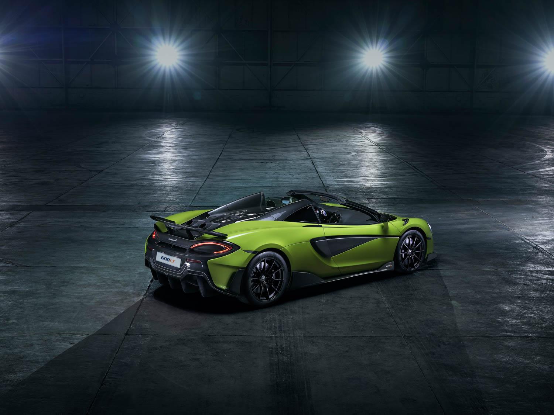McLaren 600LT Spider rear 3/4