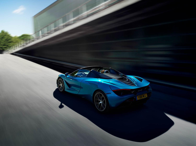 McLaren 720S Spider driving