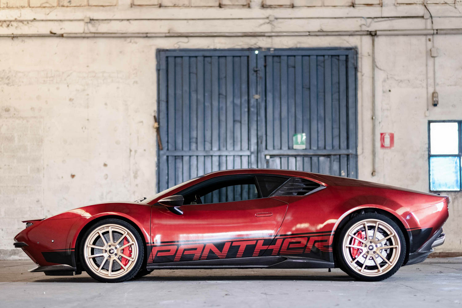 Ares Design Panther ProgettoUno side profile