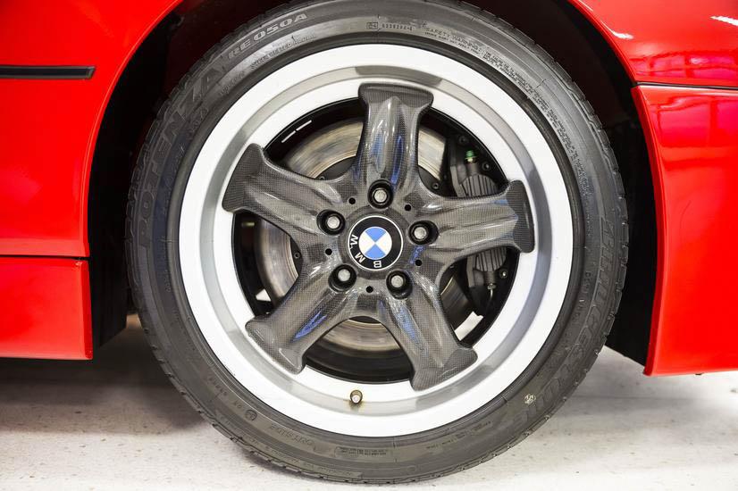 BMW E31 M8 prototype wheel detail