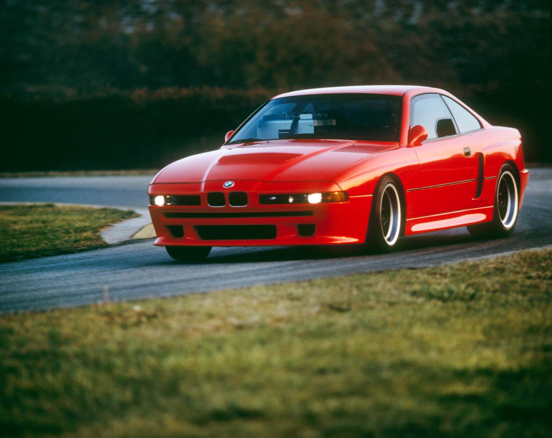BMW E31 M8 prototype driving