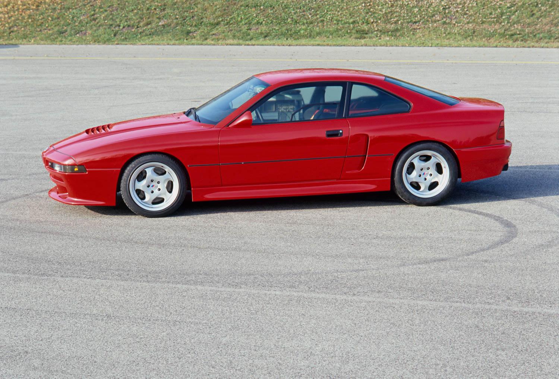 BMW E31 M8 prototype overhead
