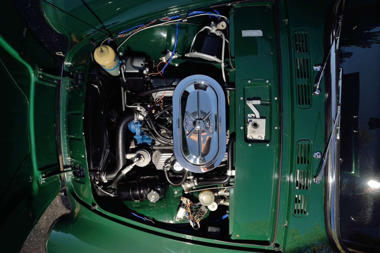 1967 Sunbeam Tiger MKII engine
