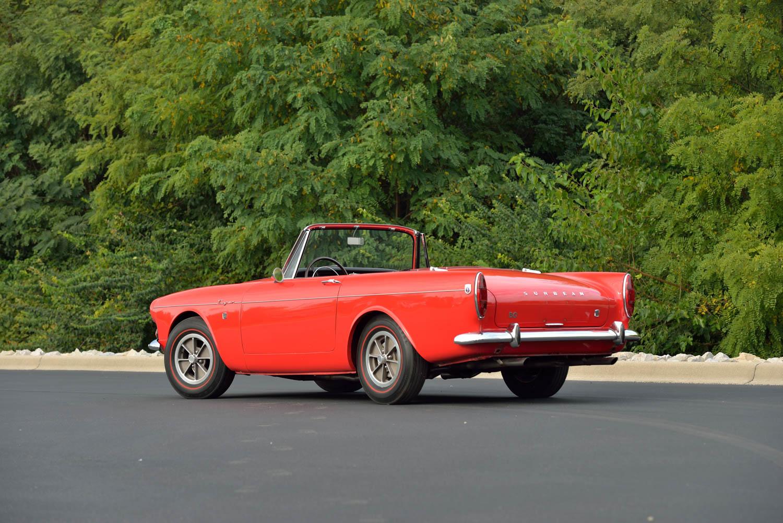 1965 Sunbeam Tiger MKI 3/4 rear