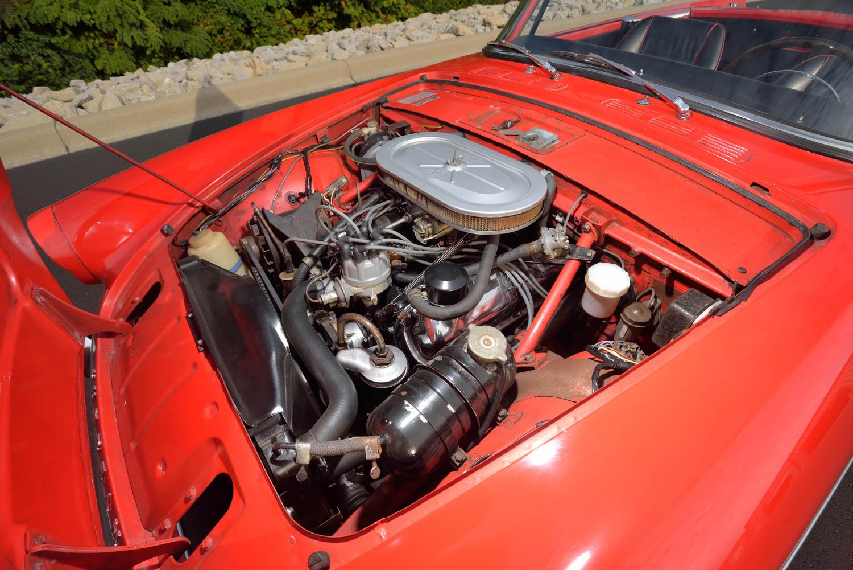 1965 Sunbeam Tiger MKI engine