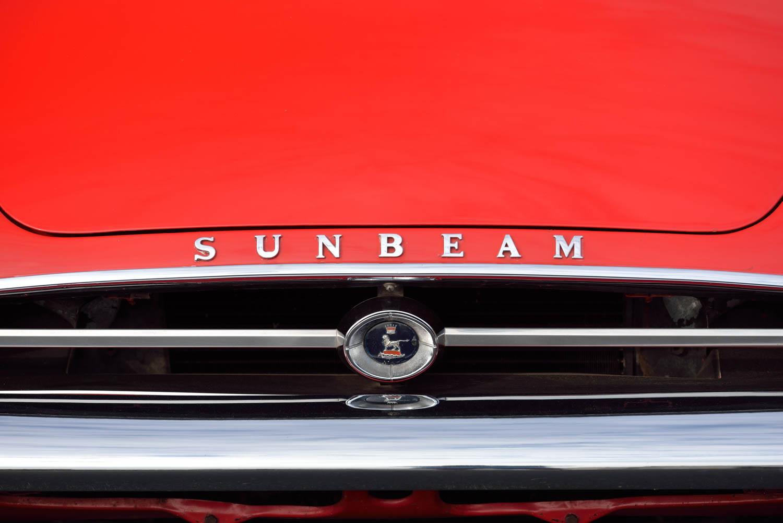 1965 Sunbeam Tiger MKI grille detail