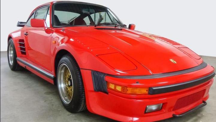 1984 Porsche 911 Turbo Slantnose