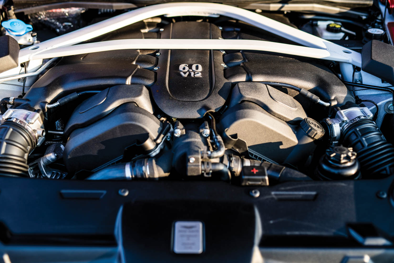 2019 Aston Martin Vanquish Zagato Shooting Brake engine