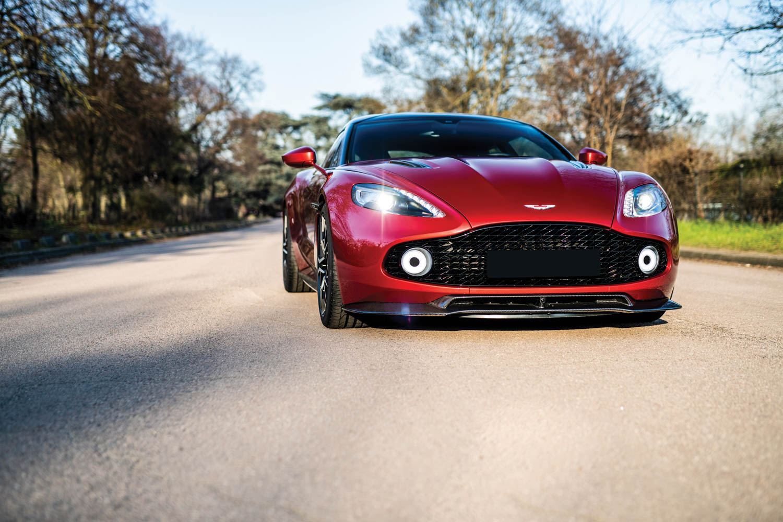 2019 Aston Martin Vanquish Zagato Shooting Brake low