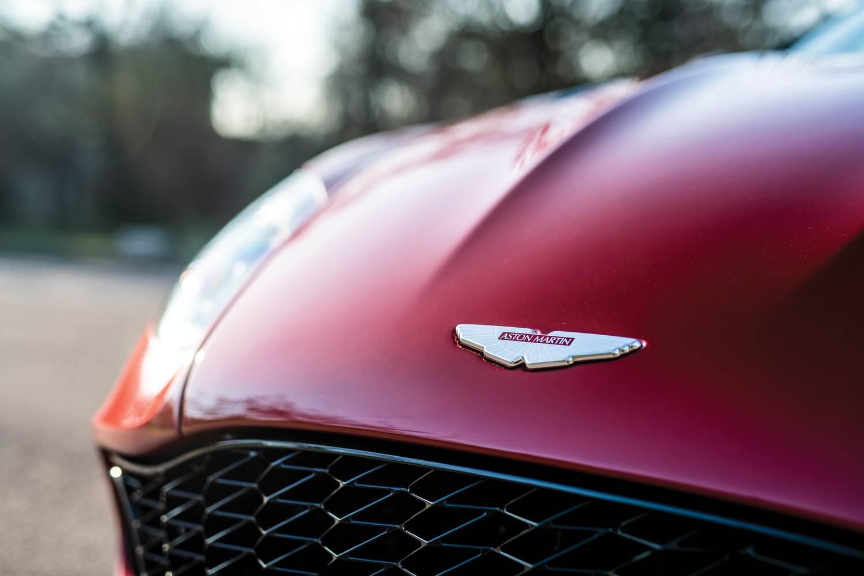 2019 Aston Martin Vanquish Zagato Shooting Brake badge