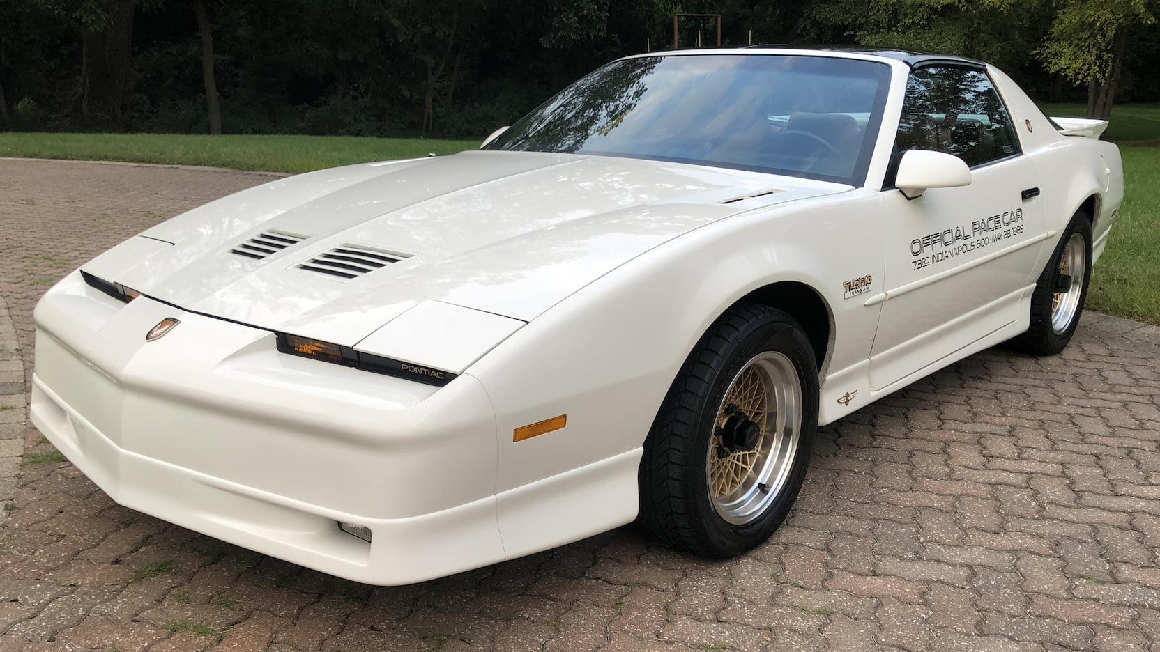 1989 Pontiac Firebird Trans Am 20th Anniversary Edition
