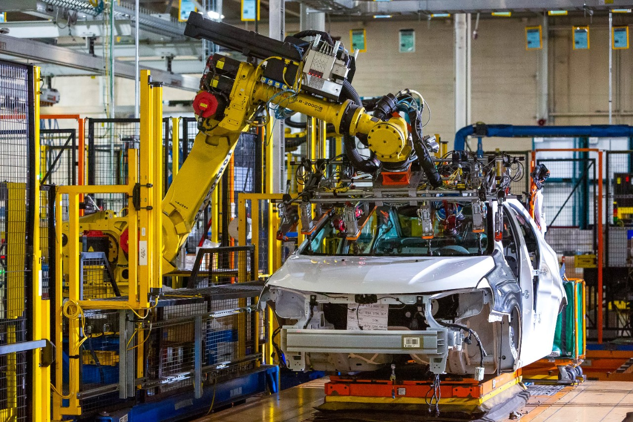 Chevrolet Bolt EV and Chevrolet Sonic vehicles are assembled Tuesday, March 19, 2019 at the General Motors Orion plant in Orion Township, Michigan.