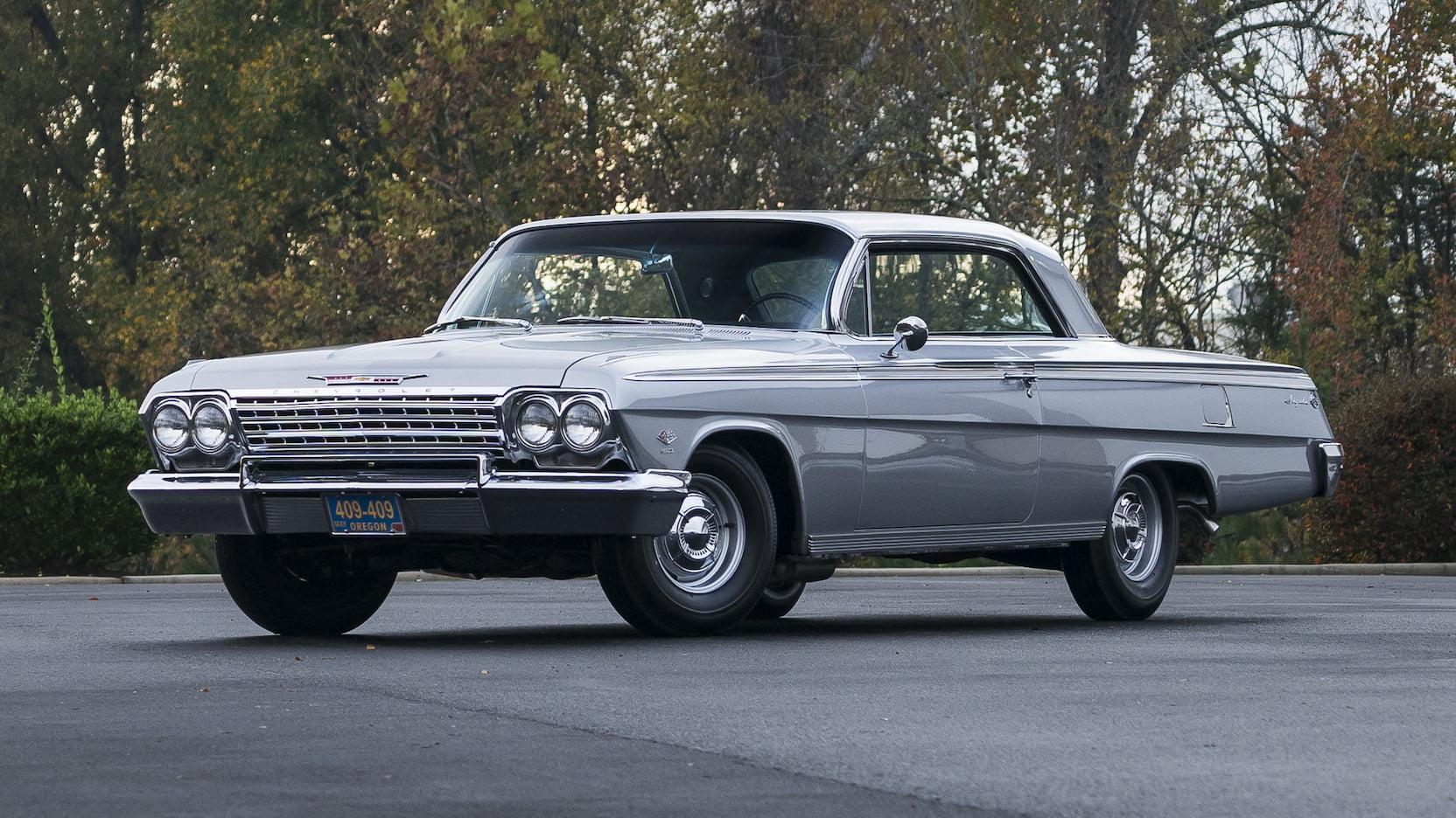 1962 Chevrolet Impala SS front 3/4