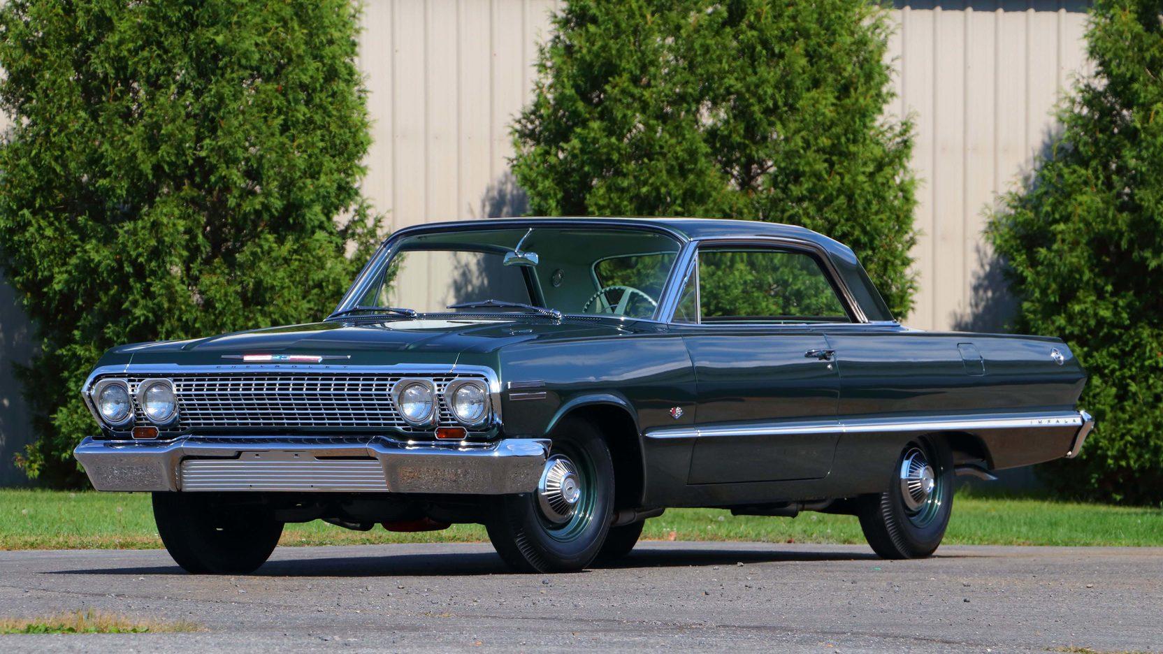 1963 Chevrolet Impala front 3/4