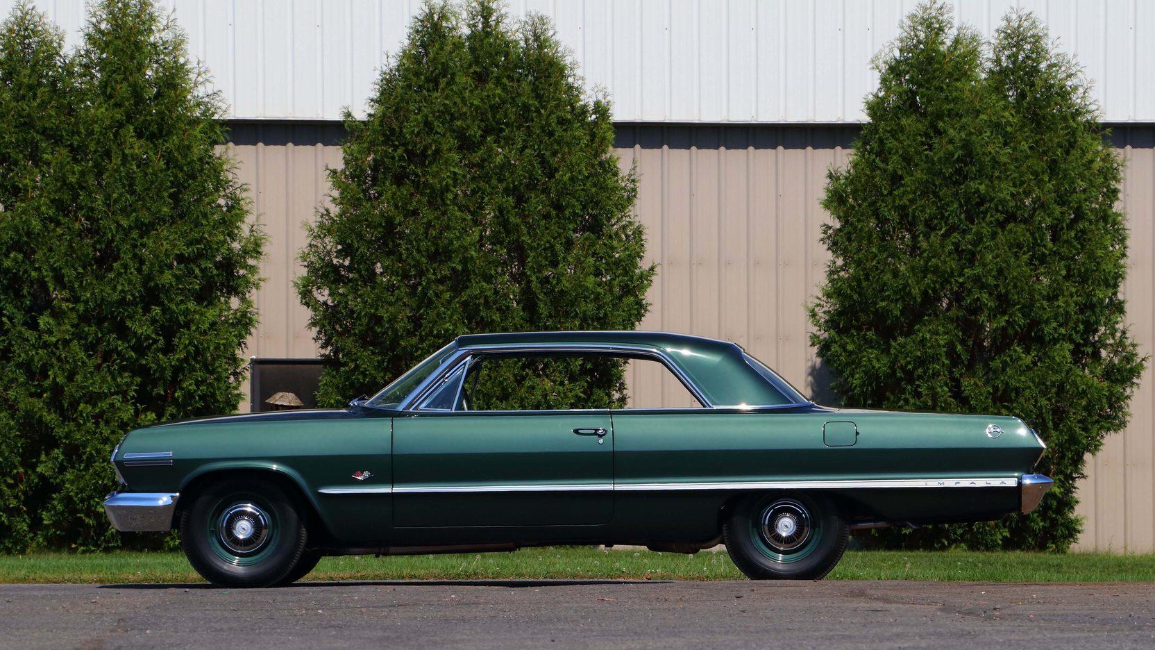 1963 Chevrolet Impala side profile
