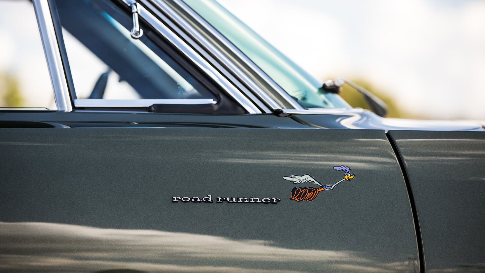 1969 Plymouth Road Runner badge