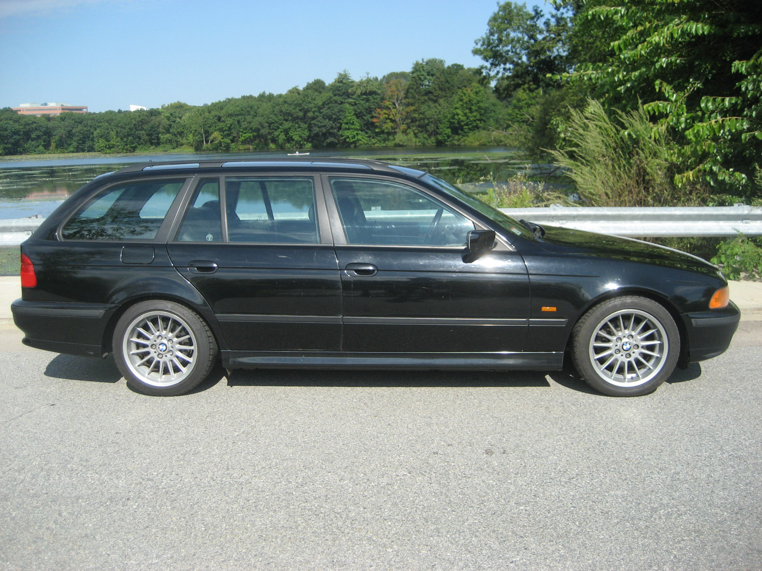 The 1999 BMW 528iT sport wagon was a nice ride for Ethan. It would be for anyone.