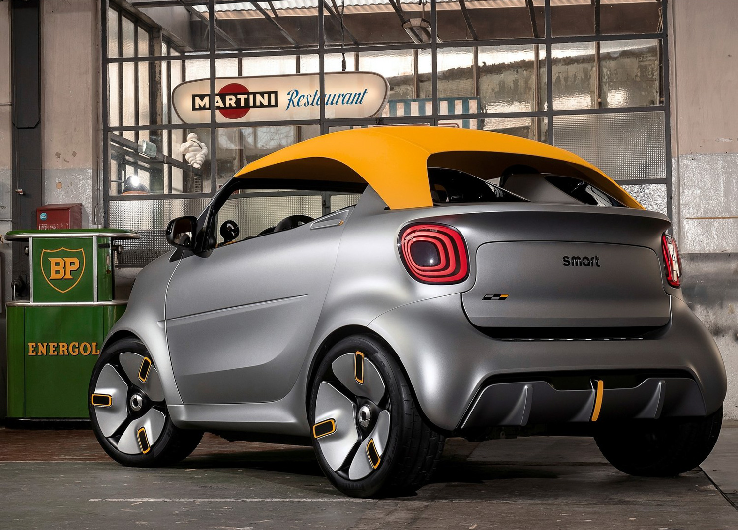 2019 Smart forease plus concept 3/4 front