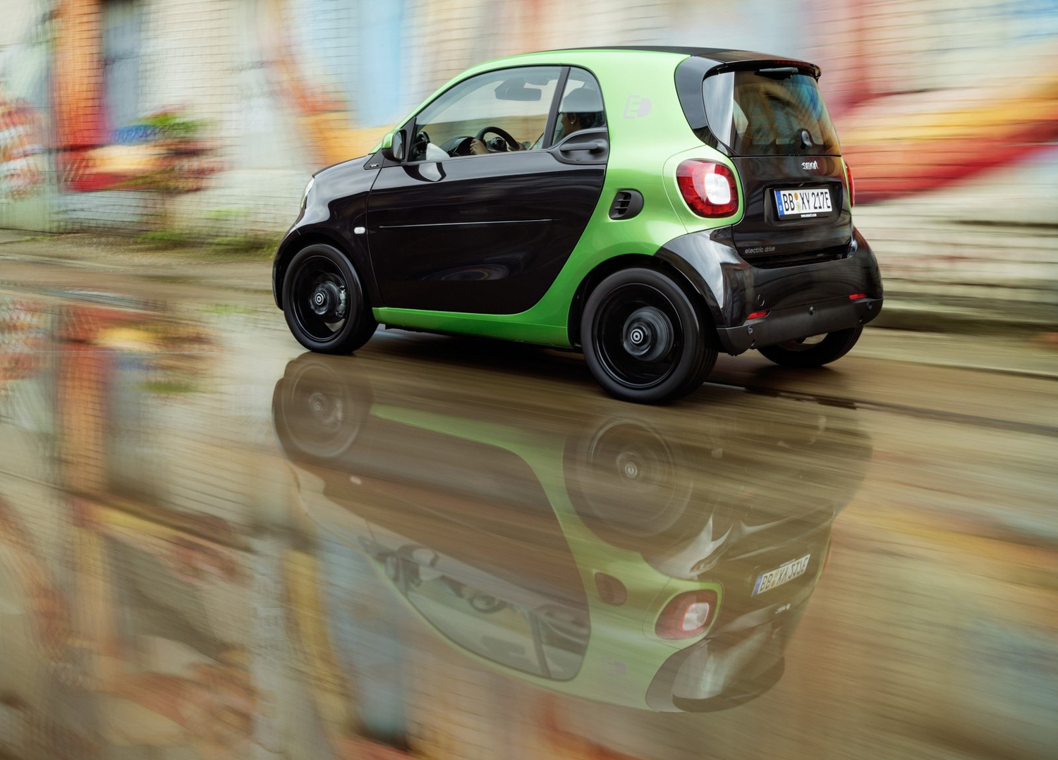 2017 Smart fortwo electric drive electric plug