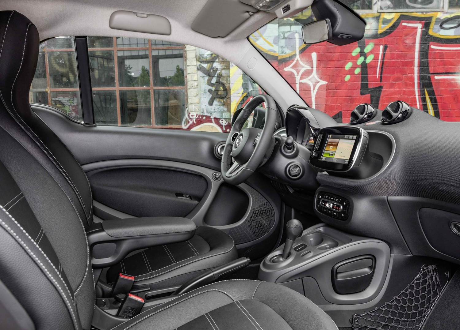 2017 Smart fortwo electric drive rear 3/4 driving