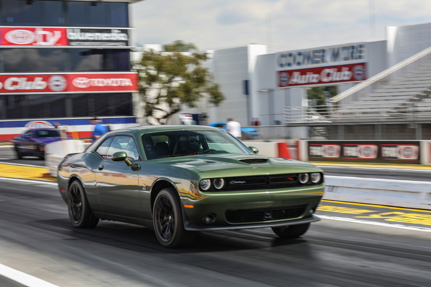 2019 Challenger R/T Scat Pack 1320 Drag strip Launch