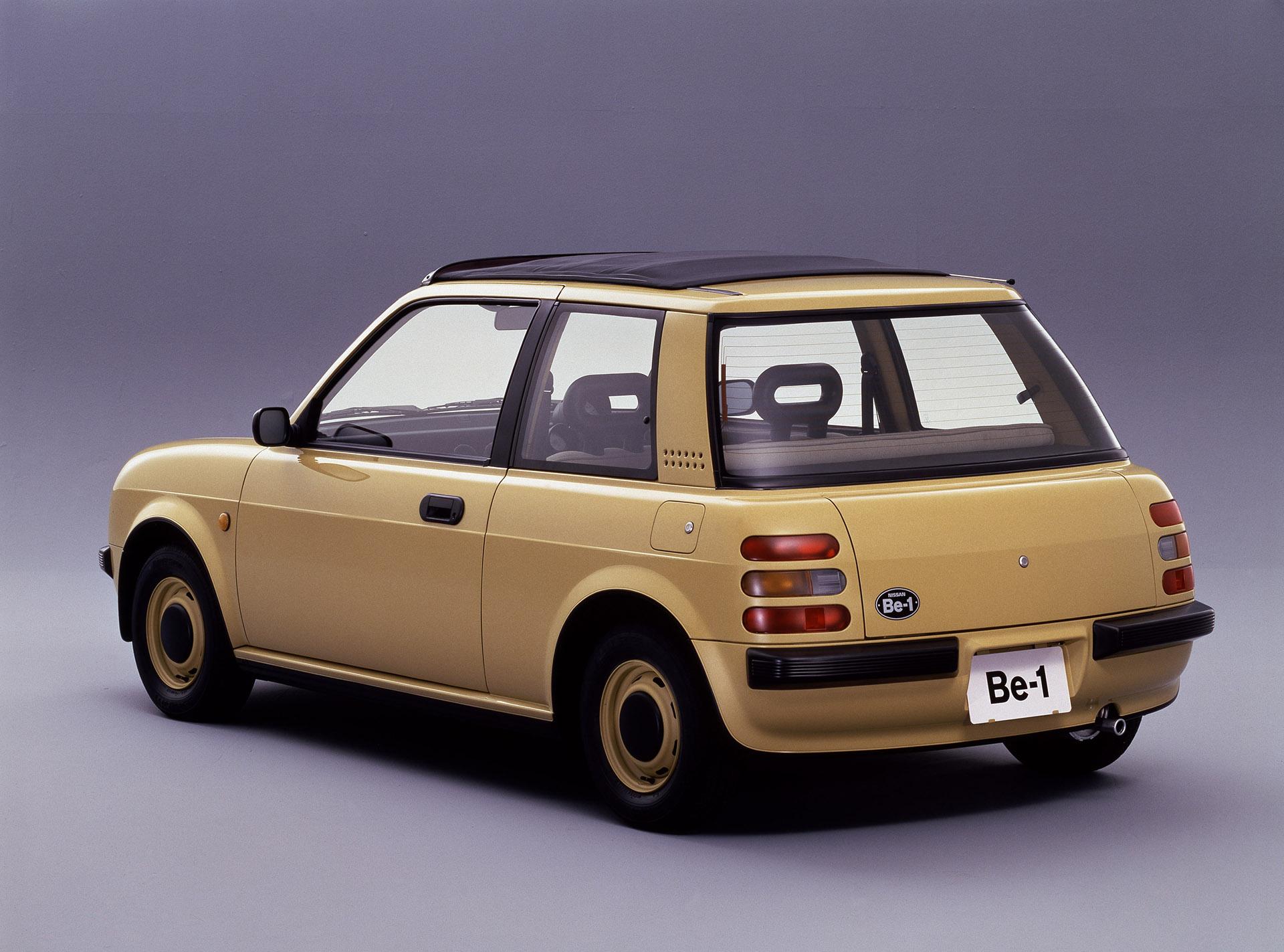 Nissan Be-1 rear 3/4