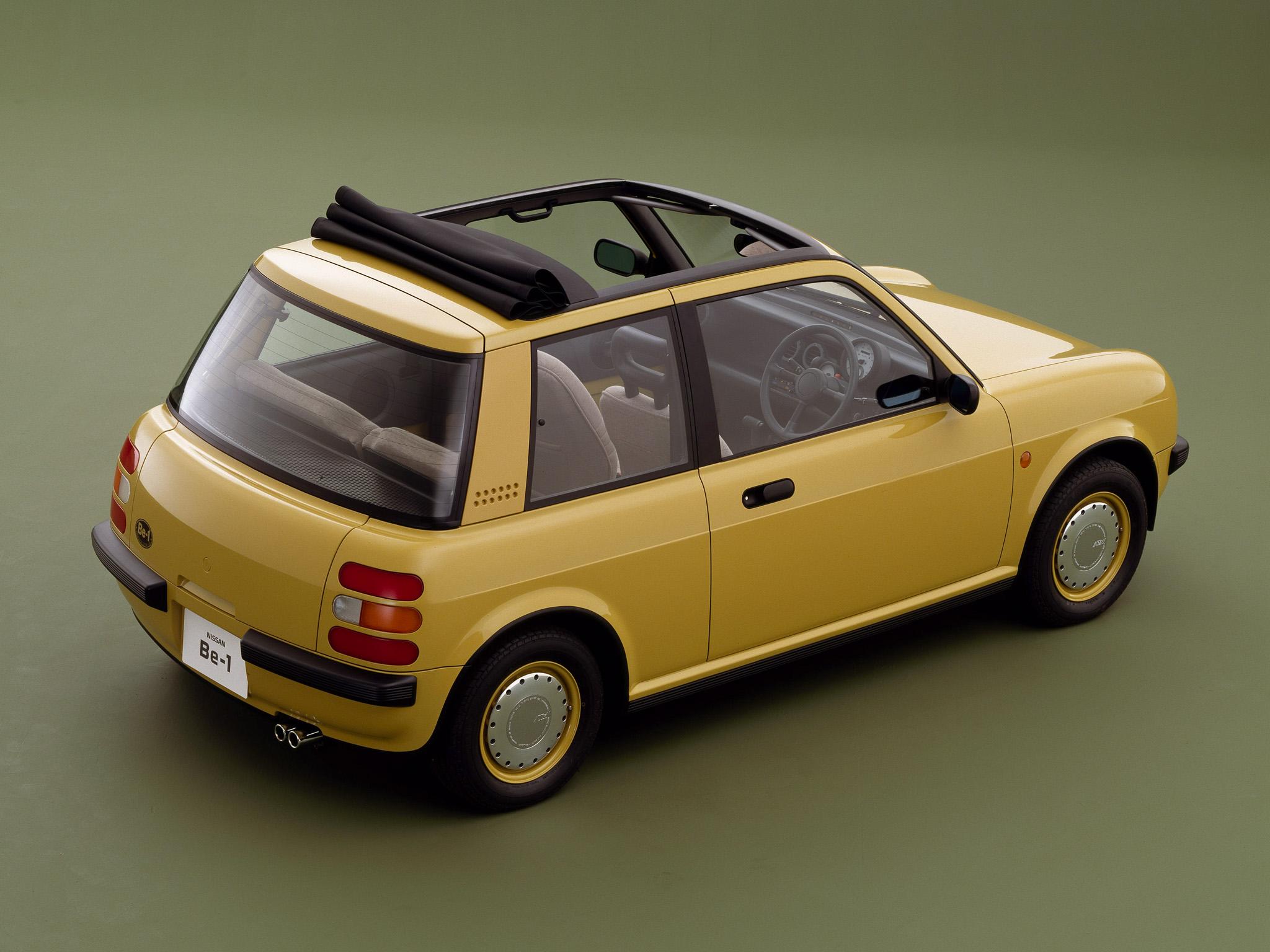Nissan Be-1 overhead