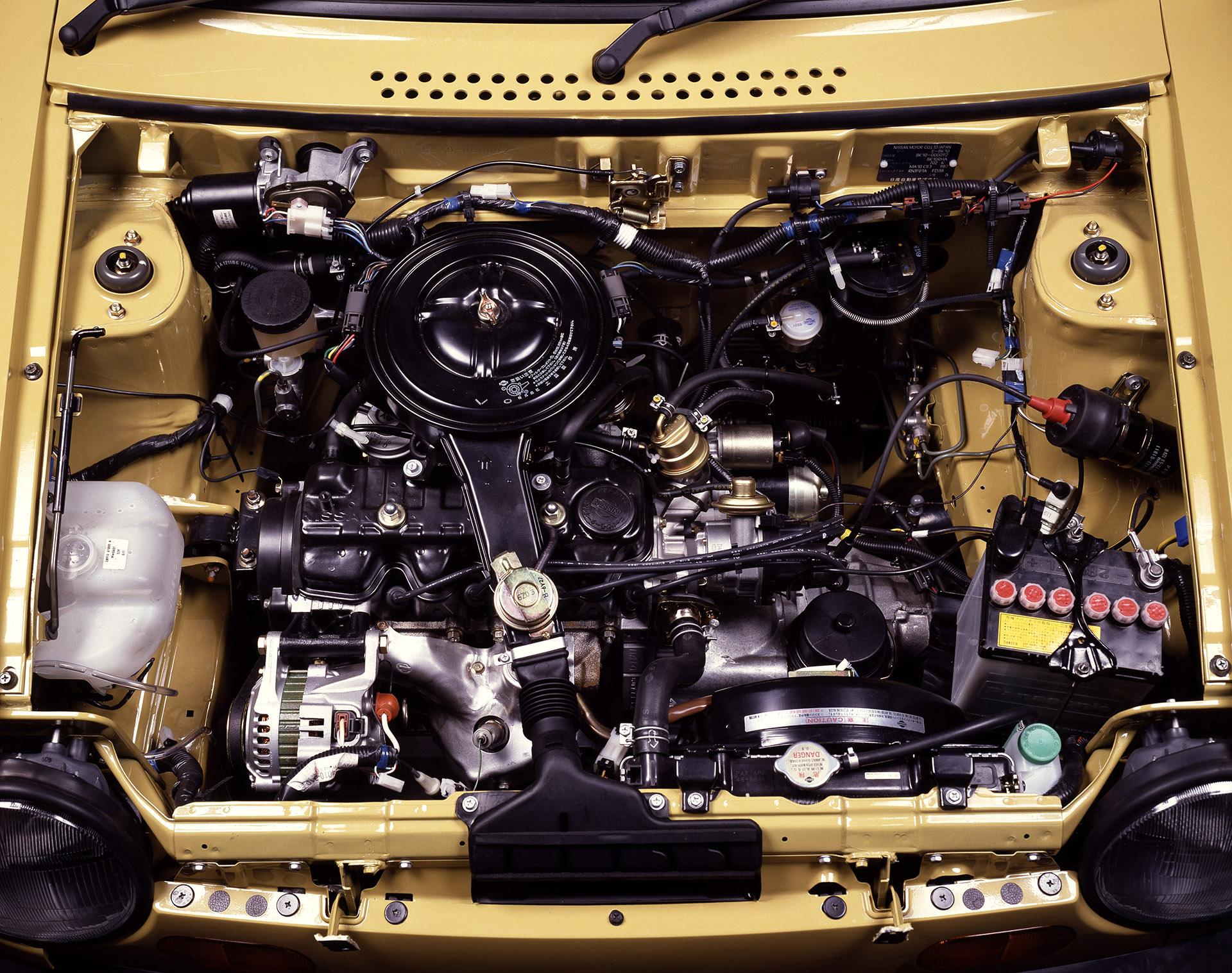 Nissan Be-1 engine
