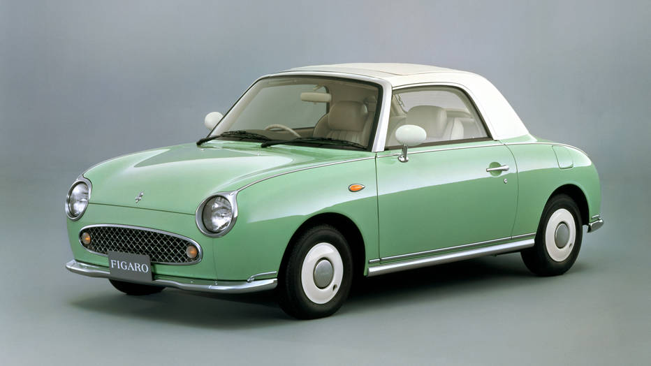 Nissan Figaro front 3/4