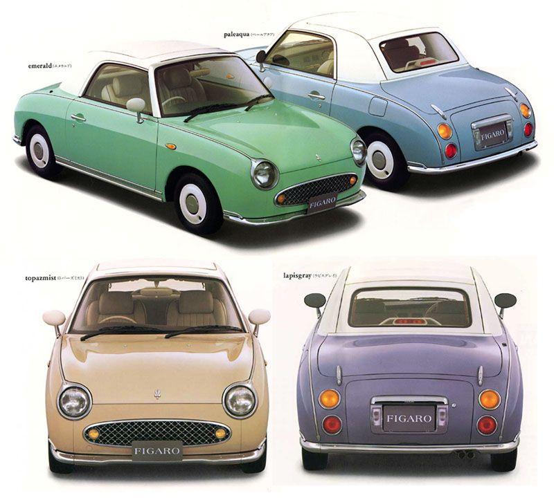 Nissan Figaro brochure