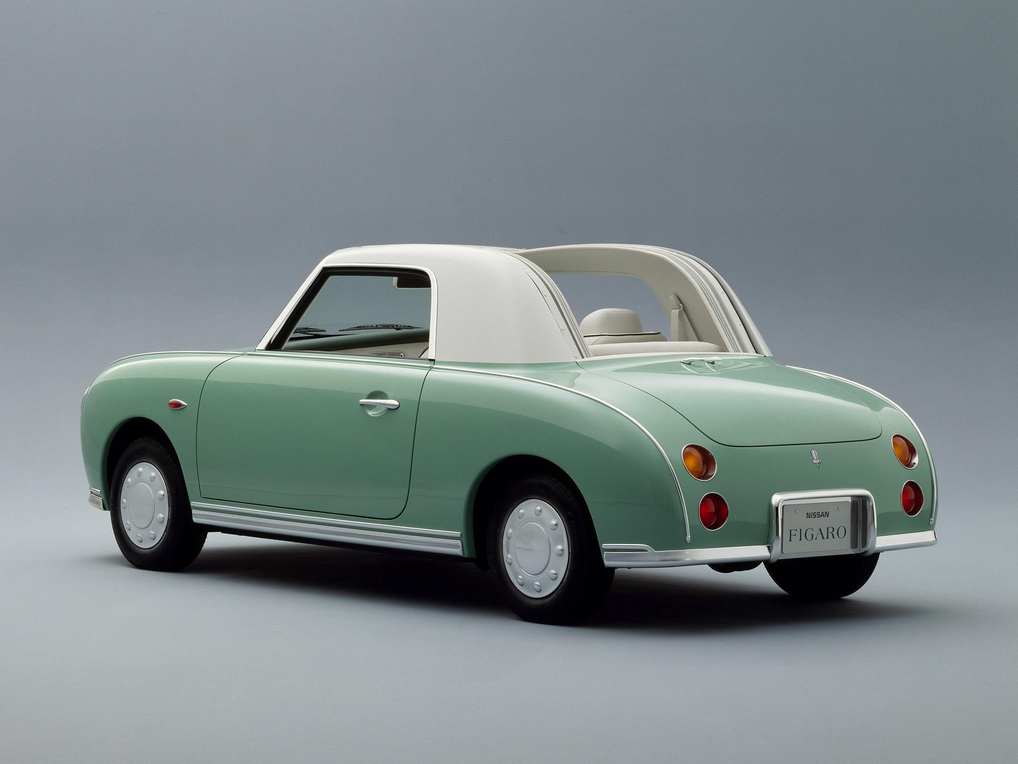 Nissan Figaro rear 3/4