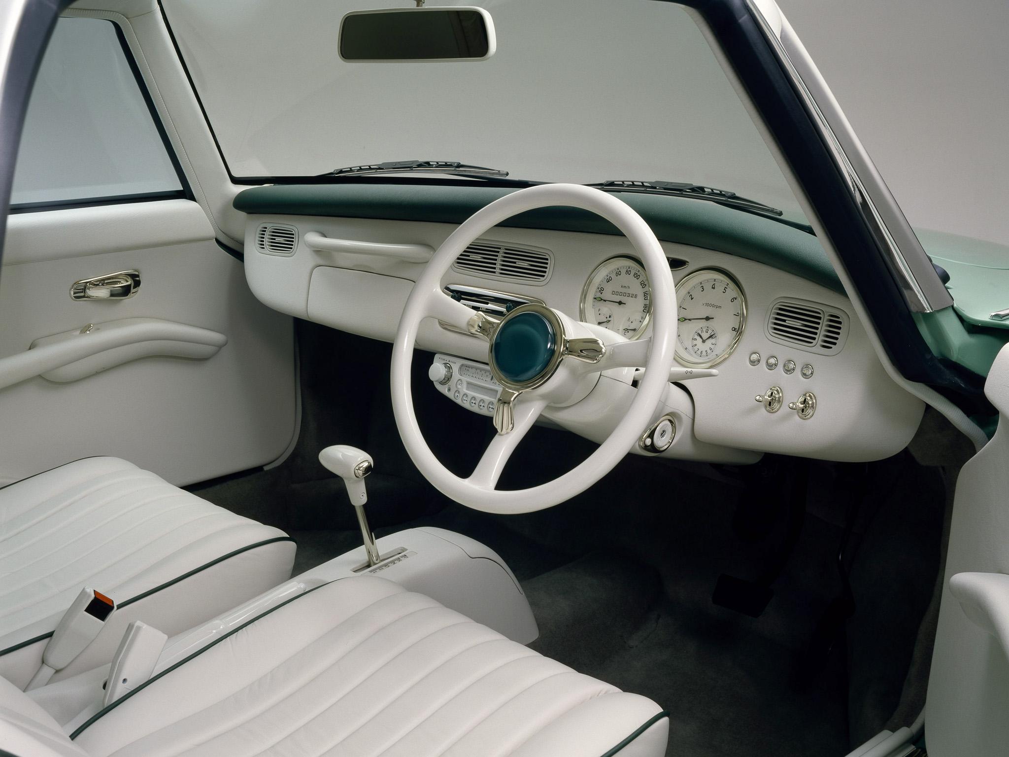 Nissan Figaro interior