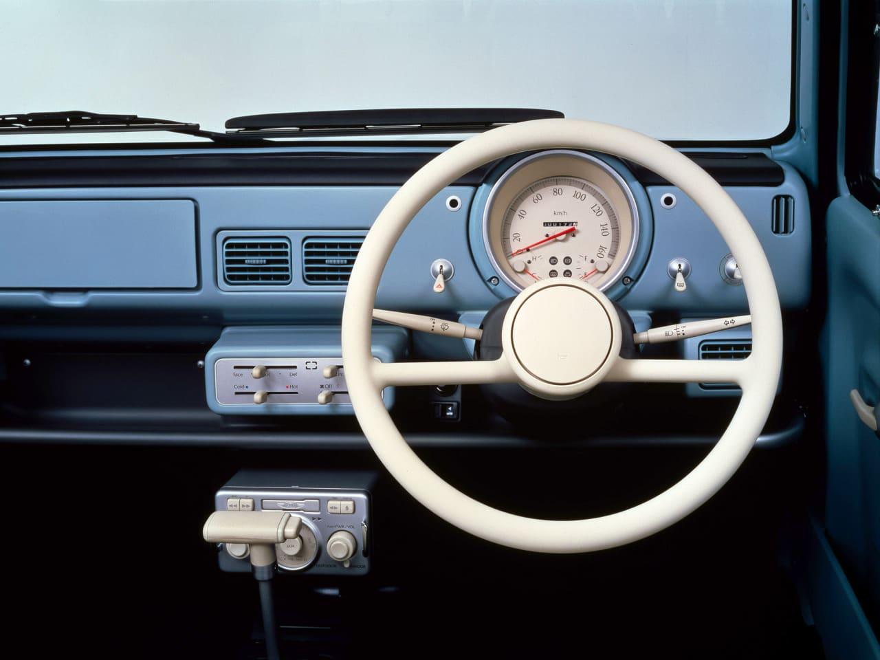Nissan Pao interior