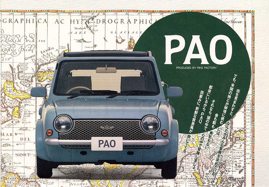 Nissan Pao front