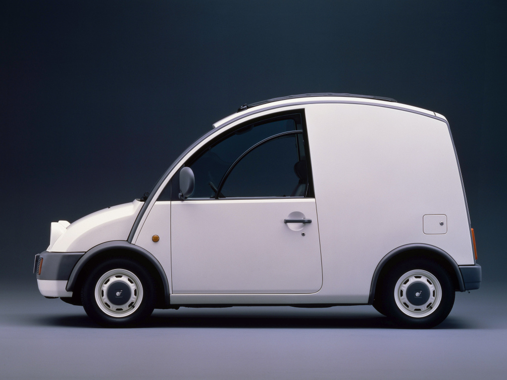 Nissan S Cargo side profile