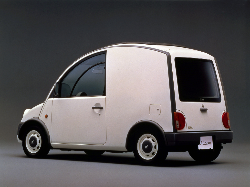 Nissan S Cargo rear 3/4