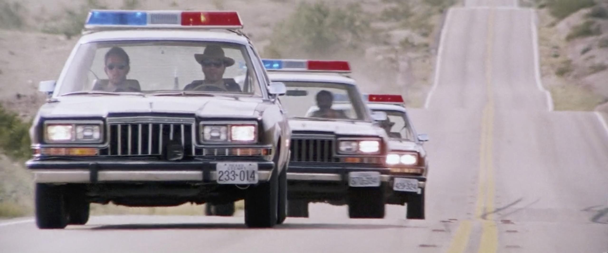 hitcher cops in pursuit