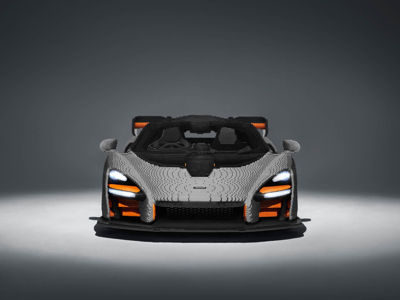 LEGO McLaren Senna front