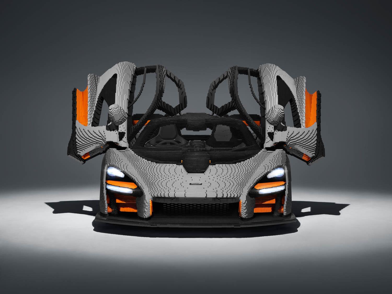 LEGO McLaren Senna doors up
