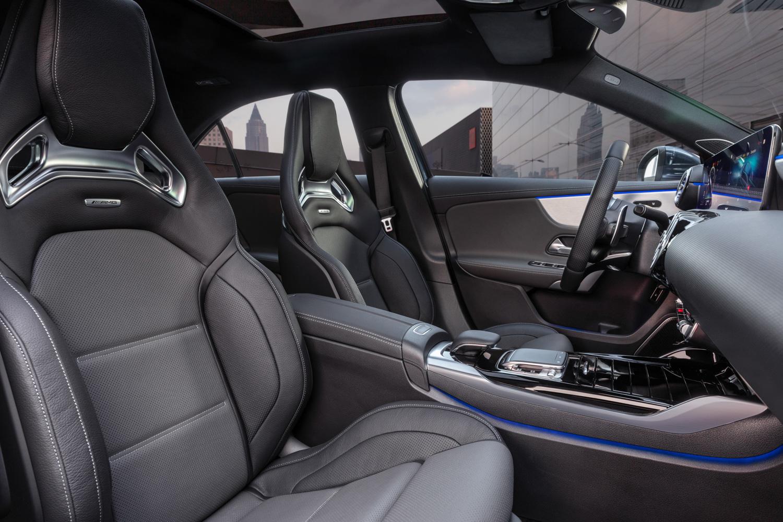 Mercedes-AMG A 35 interior seats