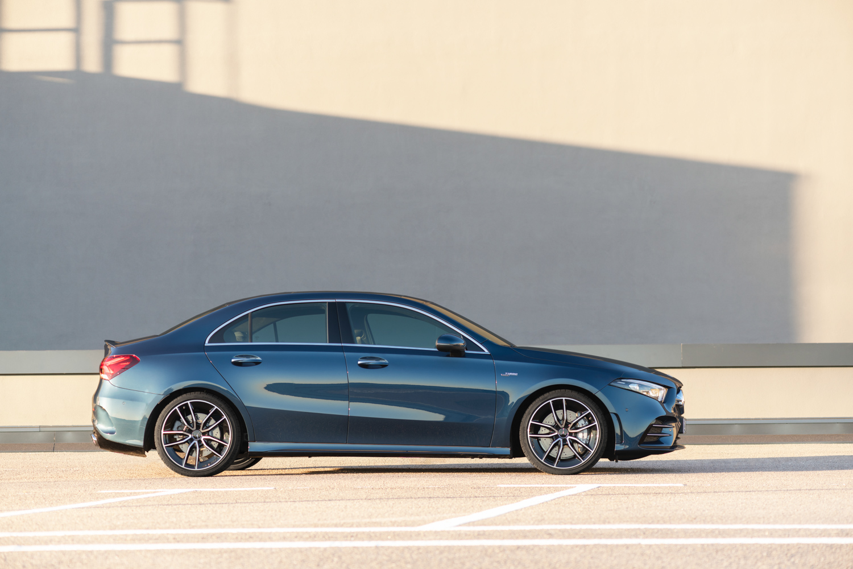 Mercedes-AMG A 35 side profile
