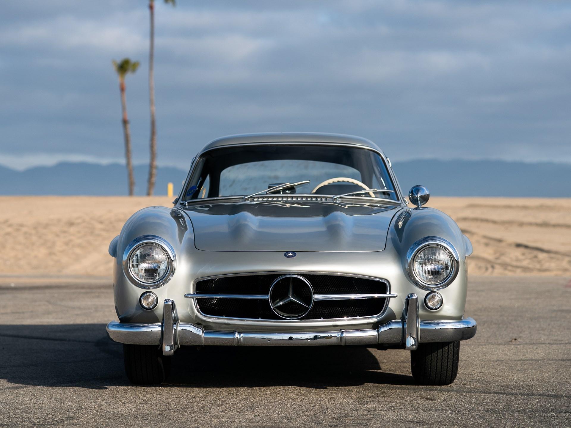 1955 Mercedes-Benz 300 SL Gullwing front end