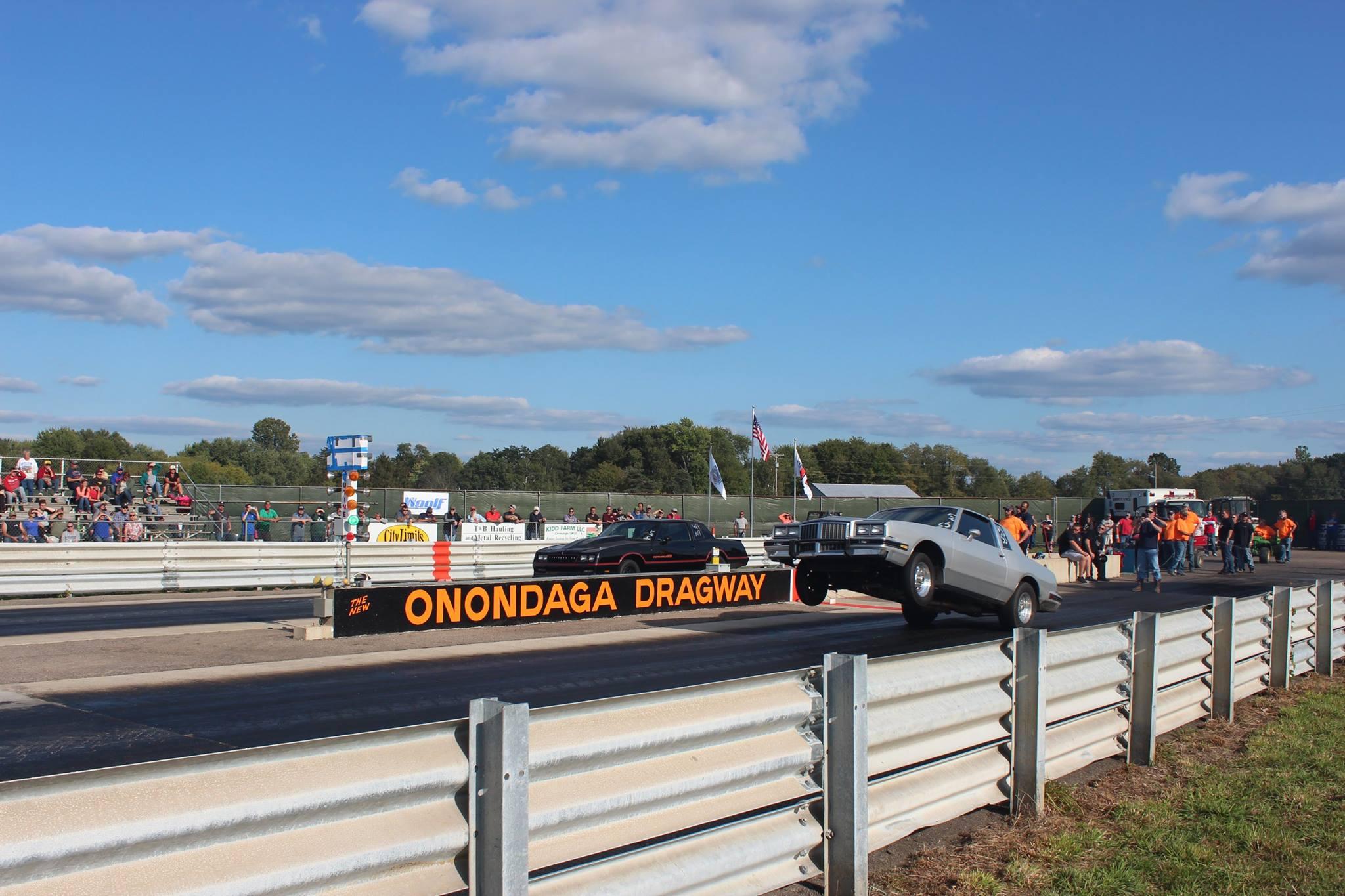 Onondaga Dragway wheelie
