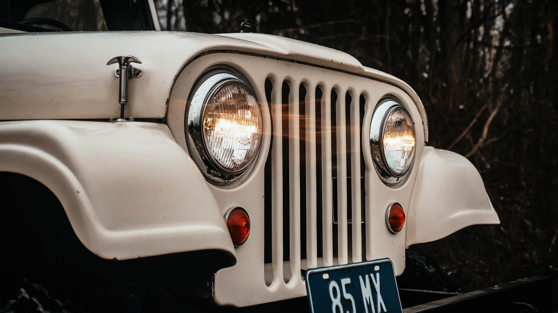 1967 Jeep CJ-5 grille