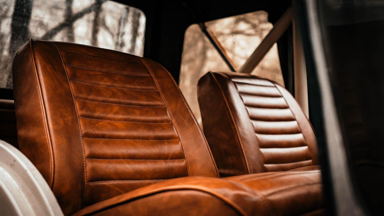 1967 Jeep CJ-5 seat detail