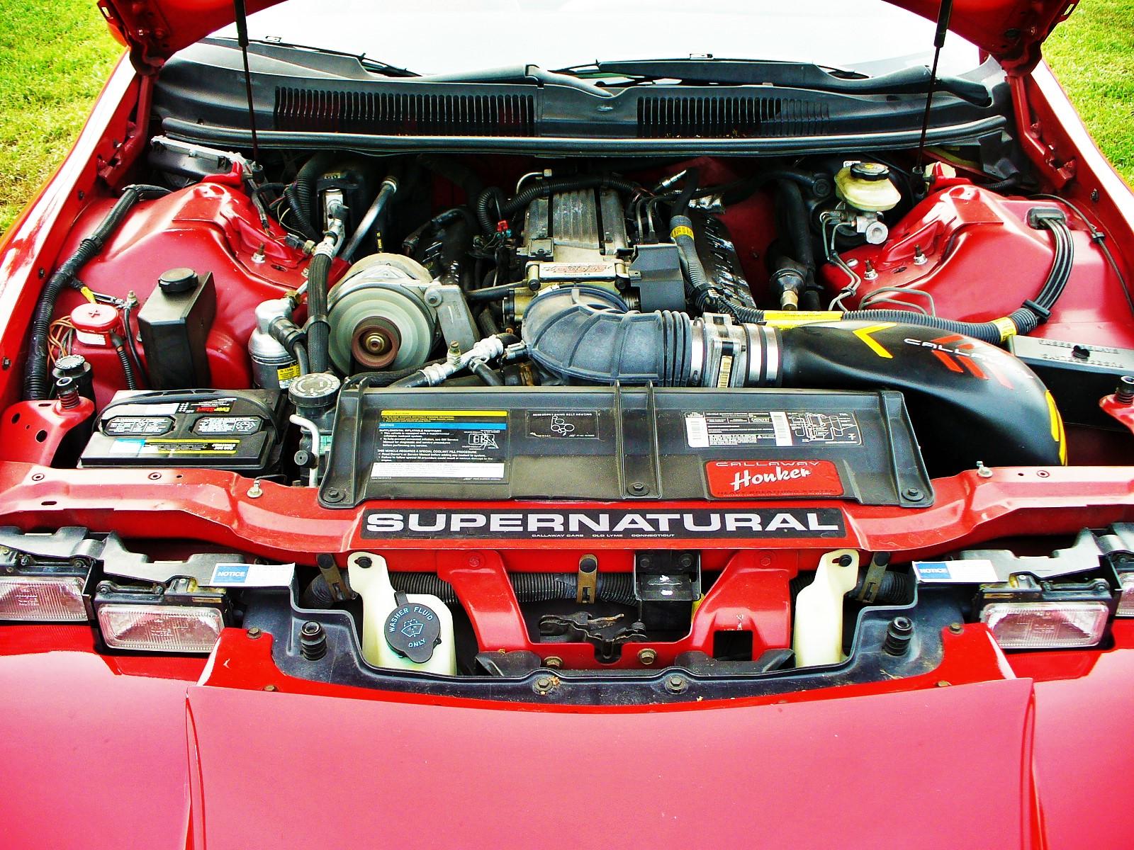 Calloway C8 engine detail