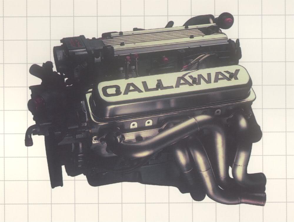 Calloway C8 supernatural engine