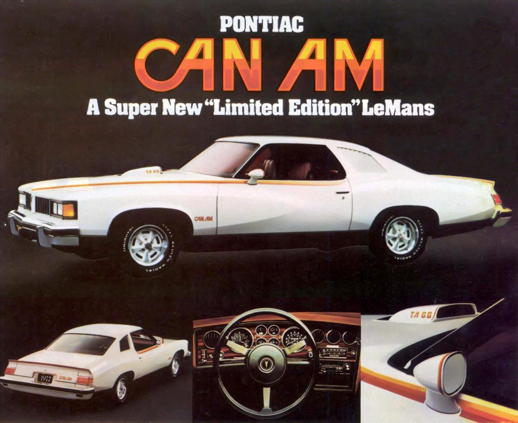 1977 Pontiac Can Am