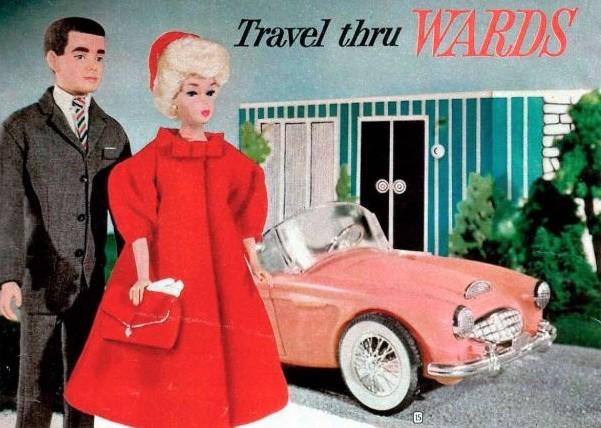 Barbie 1962 Austin-Healey 3000 MkII