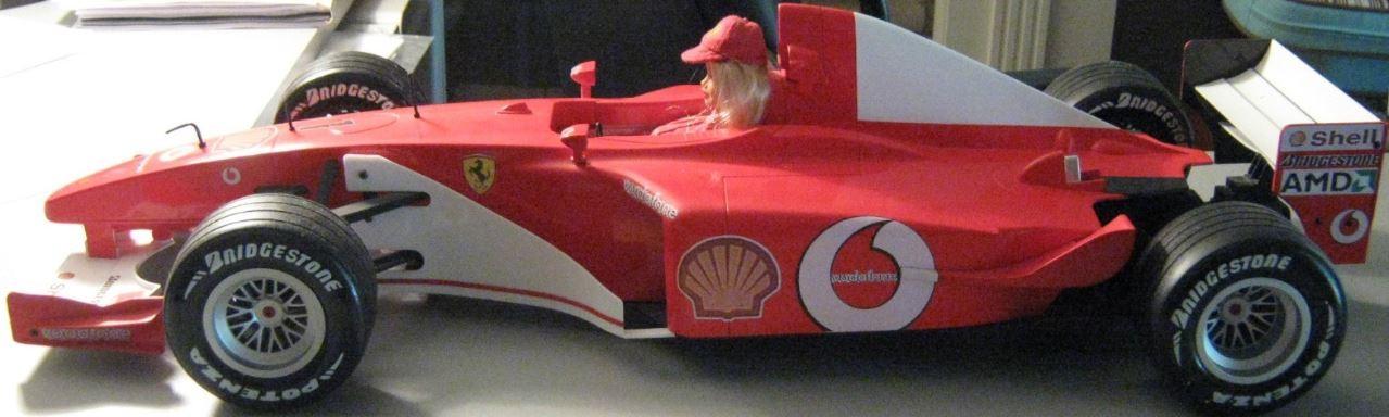 Barbie 2004 Ferrari F1 car